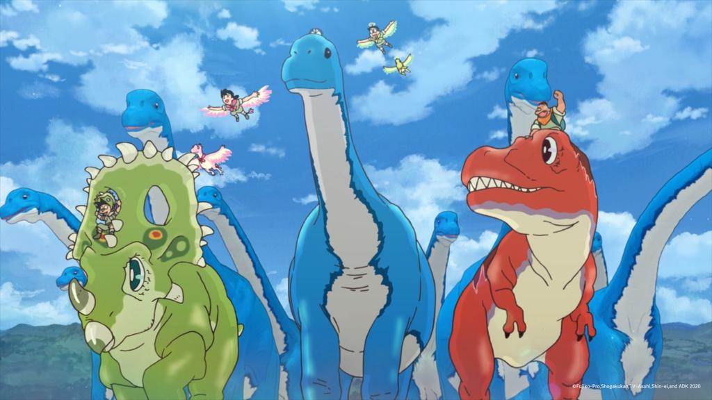 애니메이션 '도라에몽: 진구의 신공룡'