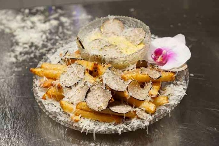 세계에서 가장 비싼 감자튀김.