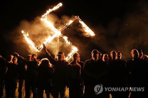 나치 상징 문양인 스와스티카 [AFP=연합뉴스 자료사진]