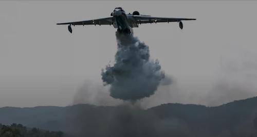 러시아제 소방용 항공기 베리예프(Be)-200