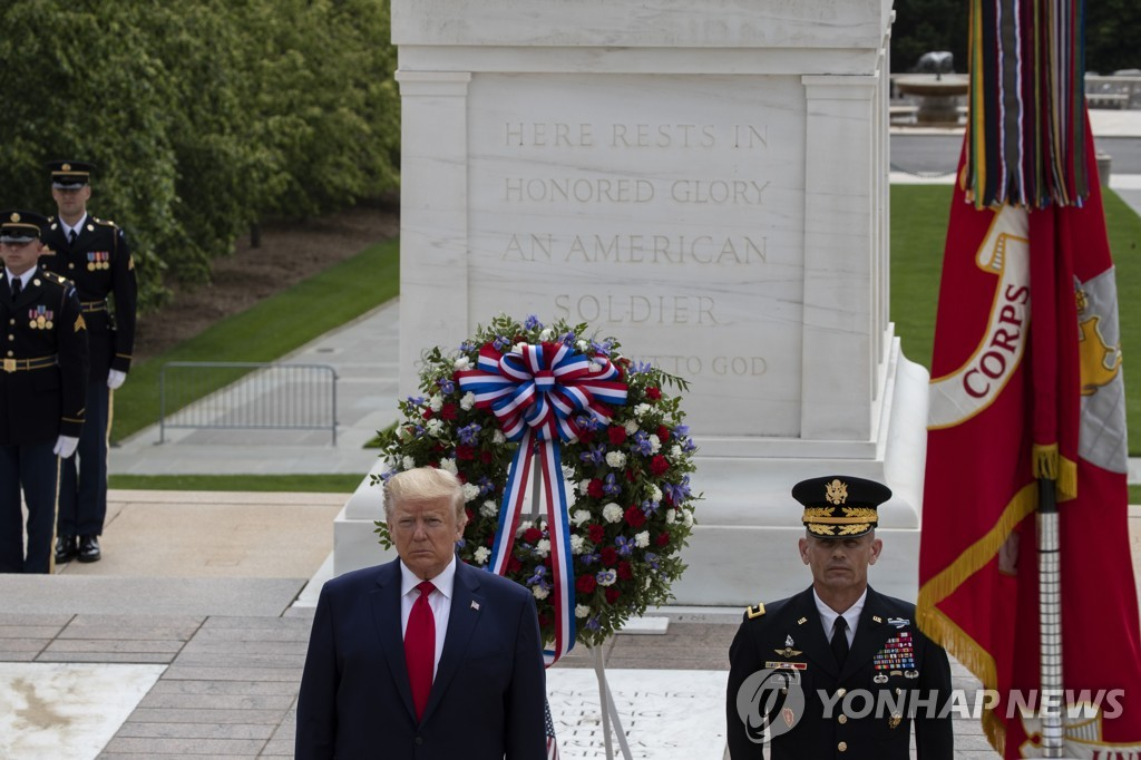 Trump to visit Korean War memorial on 70th anniversary of outbreak