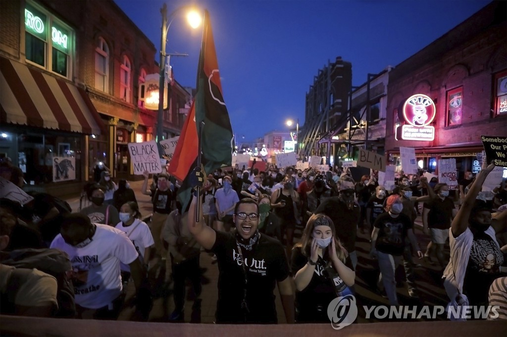 Minneapolis Police Death Protests Tennessee