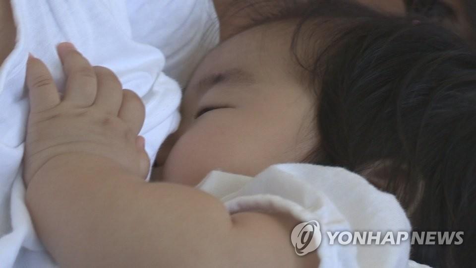 신생아 모유 수유