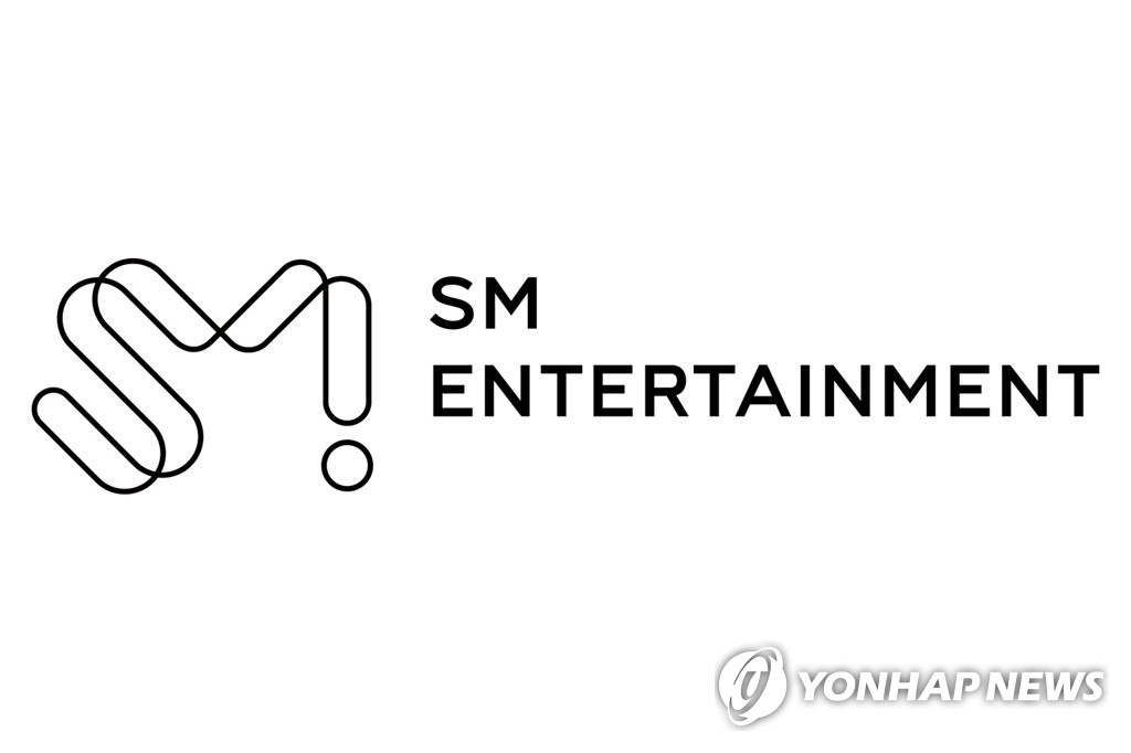 This image provided by SM Entertainment shows the company's corporate logo. (PHOTO NOT FOR SALE) (Yonhap)