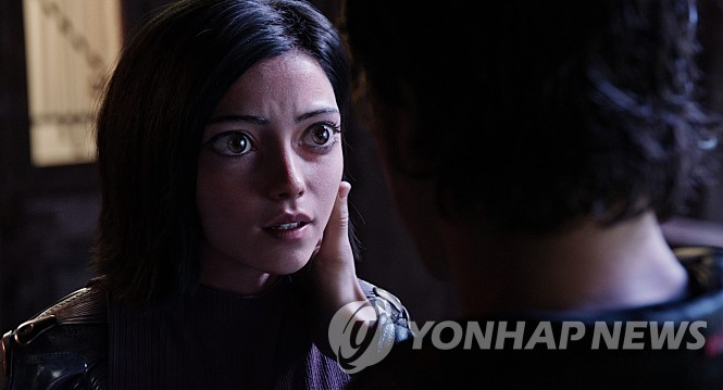 "A scene from ""Alita: Battle Angel"" (Yonhap)"