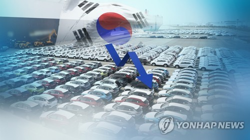 S. Korea's auto exports down 3.3 pct in March