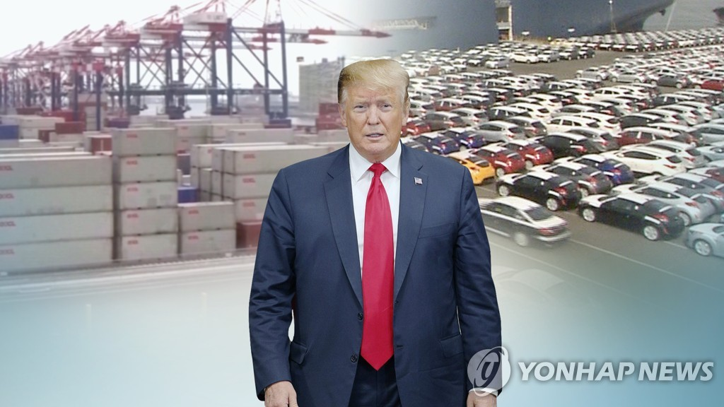 (LEAD) Trump delays auto tariff decision by up to 6 months - 1