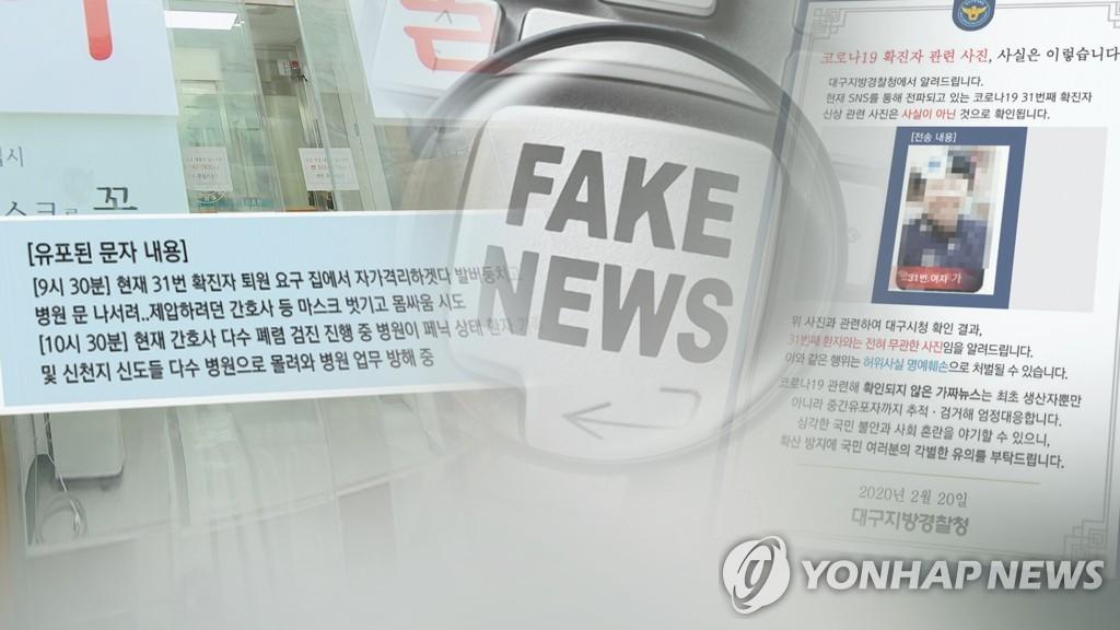 코로나19 가짜뉴스 기승 (CG)