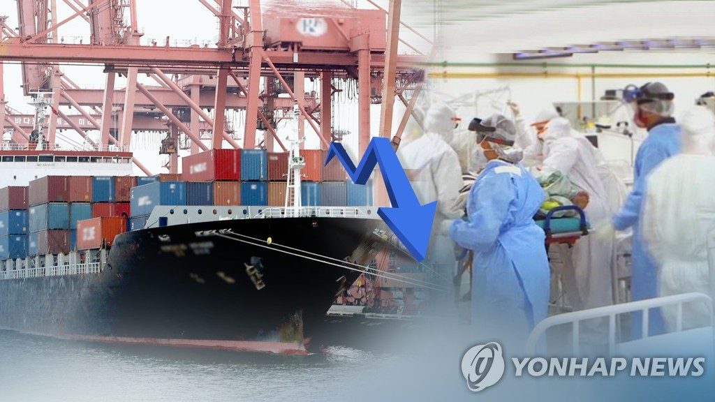 (LEAD) S. Korea's exports decline for 4 straight months amid pandemic, but pace slows as economies reopen