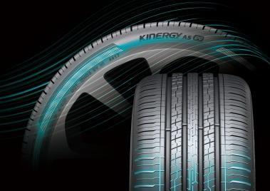한국타이어 전기차 전용 타이어 '키너지 AS ev'