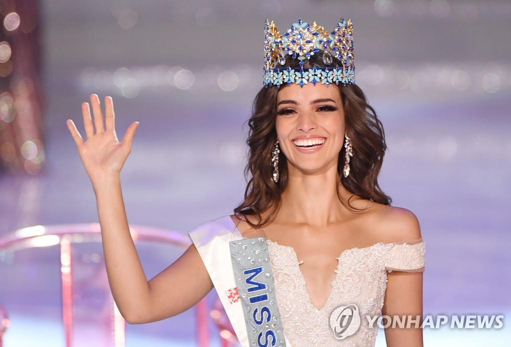 CHINA-MISS-WORLD