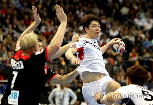 Unified Korean team loses to Germany in handball world championship debut