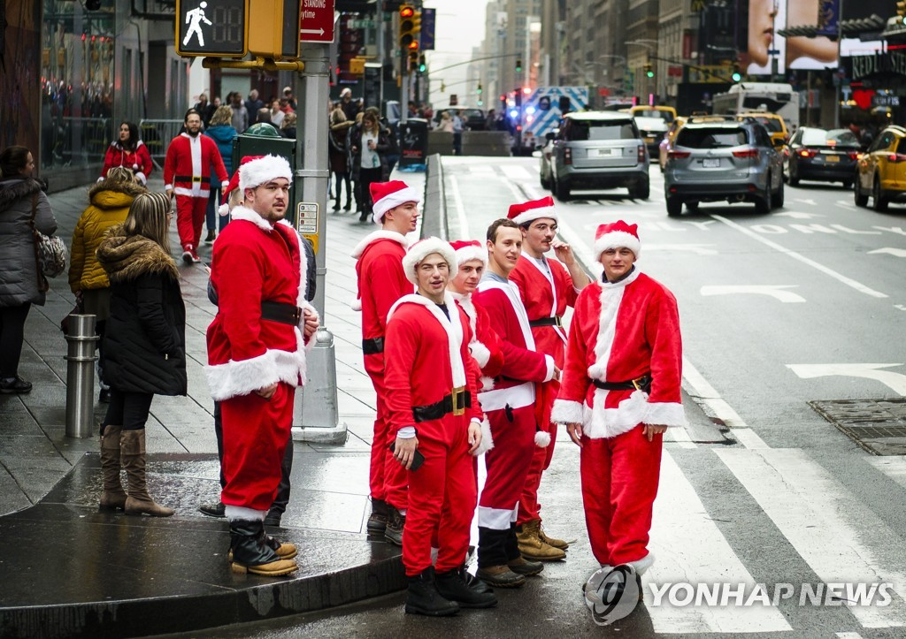 USA NEW YORK SANTACON