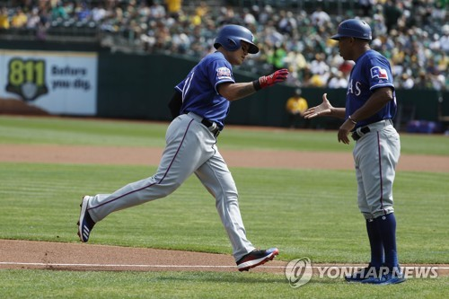 Rangers' Choo Shin-soo sets new career high with 23rd home run