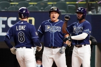 Rays' Choi Ji-man draws 2 walks off the bench in wild World Series victory