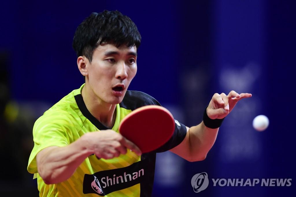 한국 남자탁구 대표팀의 맏형 이상수