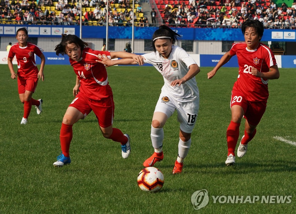 (SP)CHINA-WUHAN-7TH MILITARY WORLD GAMES-FOOTBALL(CN)