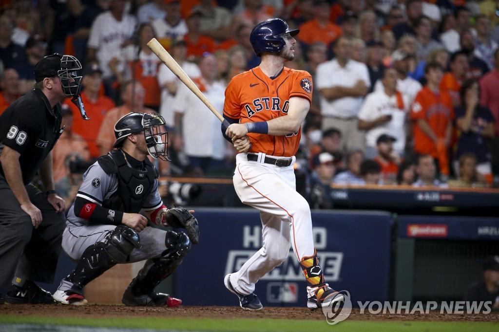 2점 홈런으로 쐐기 박은 카일 터커