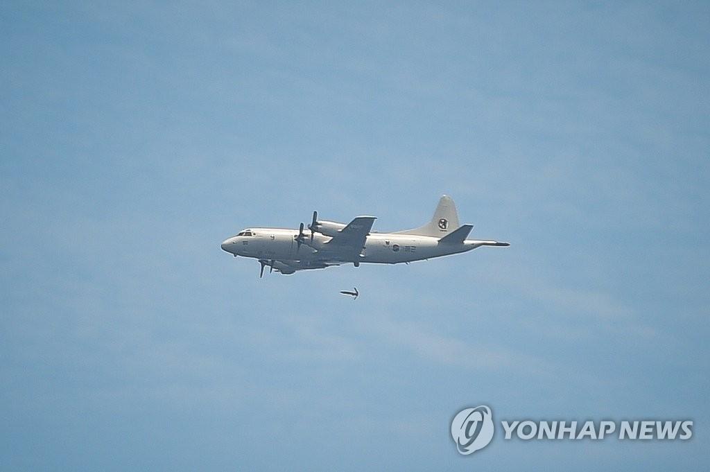北의 SLBM 발사 가능성에 美해상초계기 P-3C 한반도 비행 | 연합뉴스