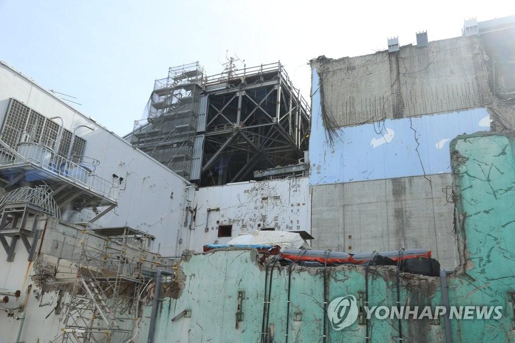 사고 상흔 남아있는 후쿠시마 원전