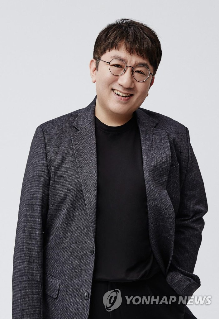 This file photo shows Bang Si-hyuk, CEO and executive producer at Big Hit Entertainment, the label-management company of K-pop sensation BTS. The photo was provided by Big Hit Entertainment. (PHOTO NOT FOR SALE) (Yonhap)