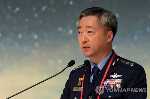Air Force chief oversees patrol mission on New Year's Eve