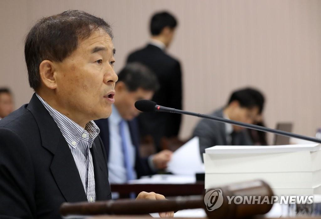 민주평화당 황주홍 의원 [연합뉴스 자료사진]