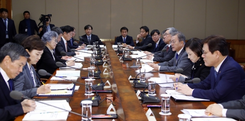 Moon urges ceaseless efforts to eradicate corruption
