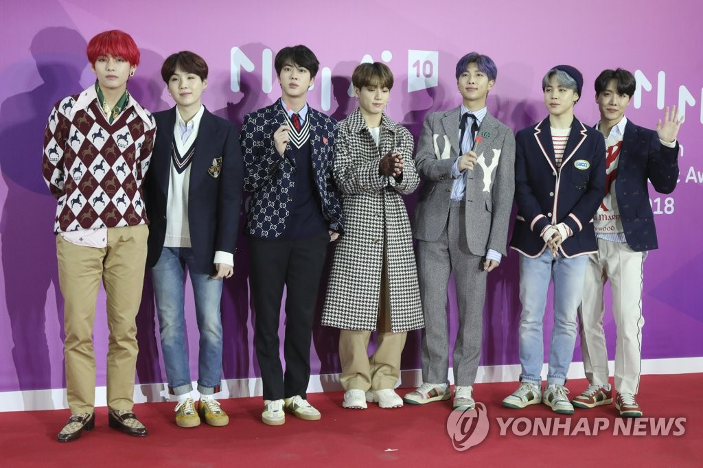 K-pop : BTS au 8e rang dans la catégorie Top Artists 2018 du Billboard