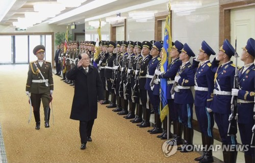 NK titular head returns from overseas trip