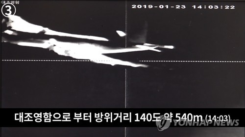 Japan's 'threatening' flyby close to S. Korean warship