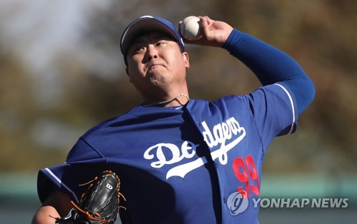 Dodgers' Ryu Hyun-jin on track for early spring appearance following 1st live session