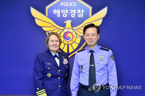 USCG chief in Seoul
