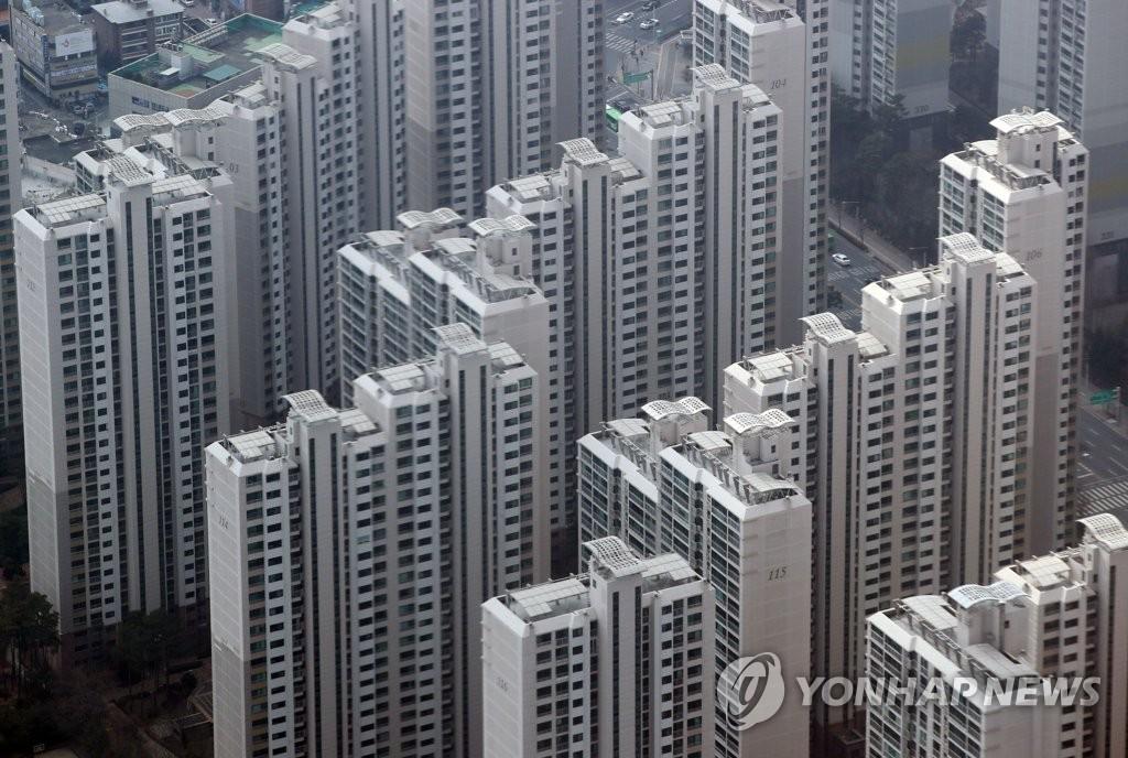 서울의 한 아파트 단지 모습 [연합뉴스 자료사진]