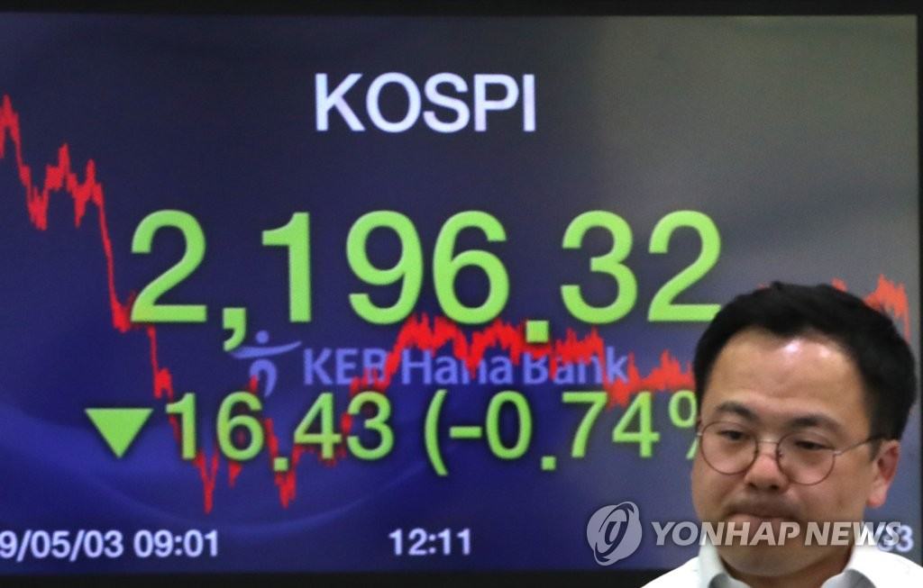 (LEAD) Seoul stocks down 0.74 pct on techs, autos - 1