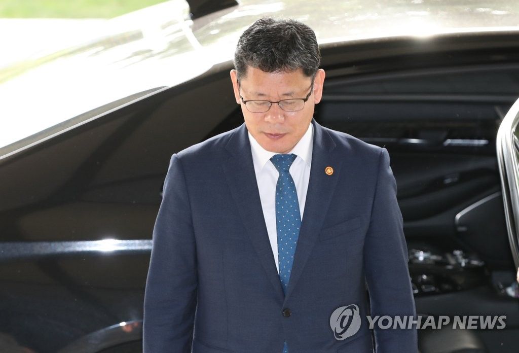 Le ministre de l'Unification, Kim Yeon-chul.