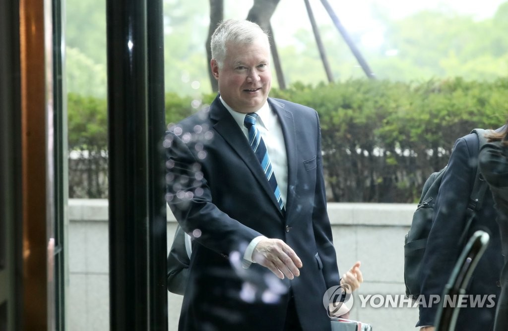 This file photo shows U.S. Special Representative for North Korea Stephen Biegun. (Yonhap)