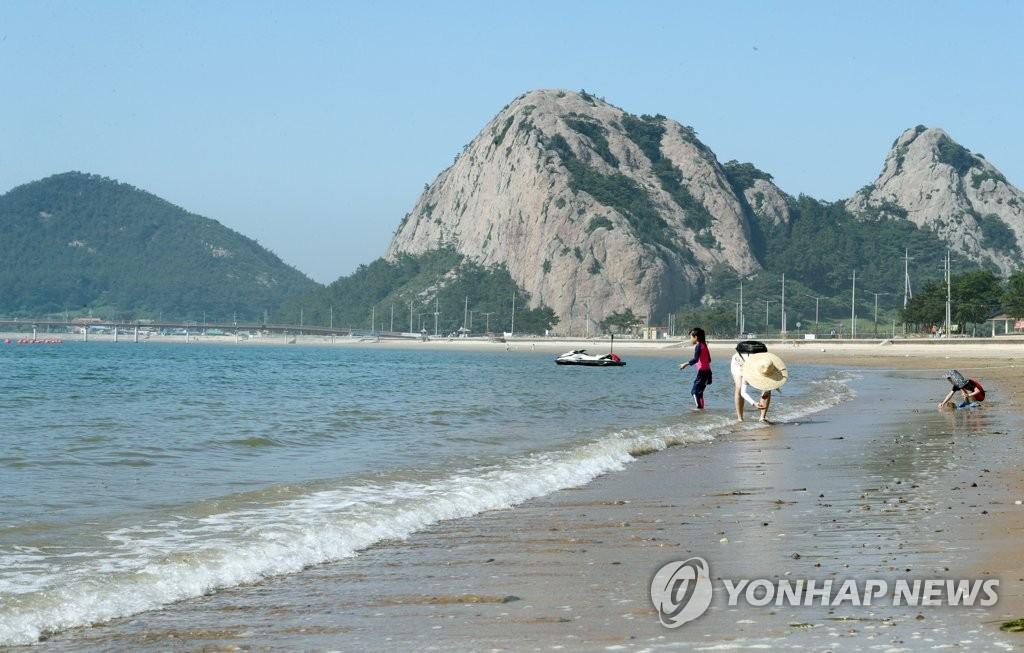 '신선이 반한 섬' 선유도해수욕장