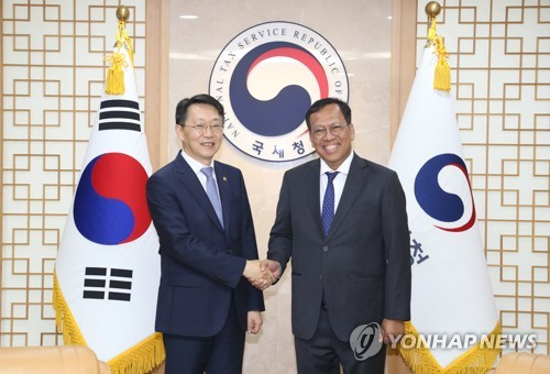 Tax chiefs of S. Korea, Indonesia meet