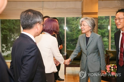 FM meets S. Korean biz people in Beijing