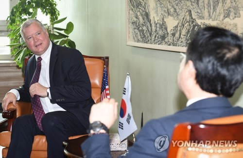(4th LD) Biegun says U.S. 'prepared to engage' in talks with N.K.