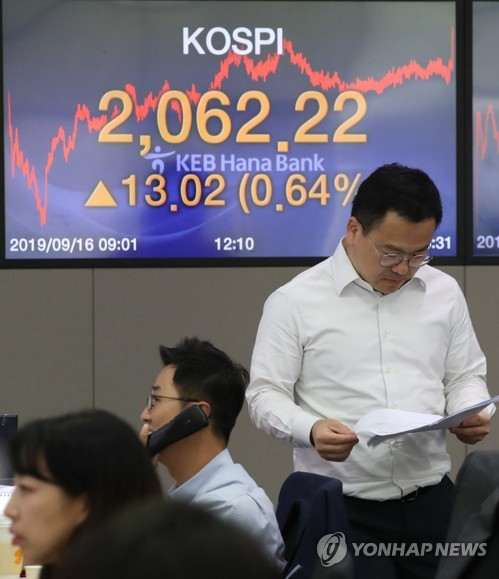 Stocks rise for 7th day