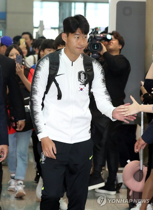 Son Heung-min heads for Pyongyang