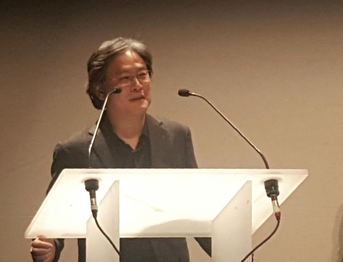 Director Park Chan-wook wins honorary award at Geneva film fest