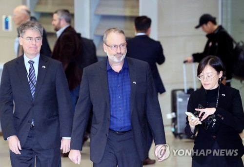 U.S. negotiator DeHart in Seoul