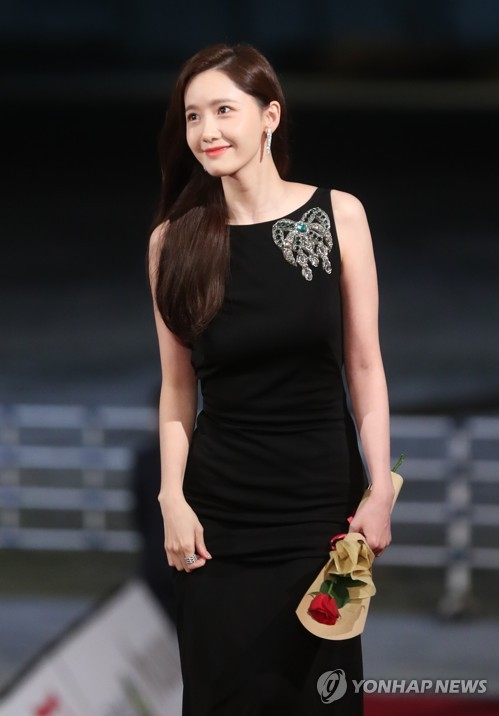 Yoona at Blue Dragon Awards