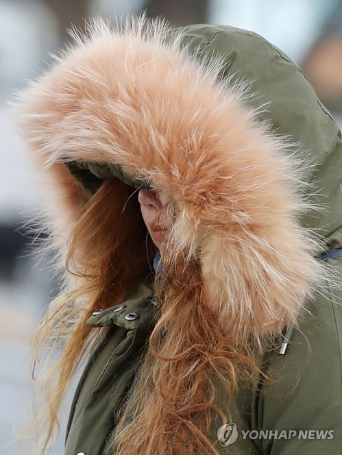 Cold weather to grip S. Korea this week