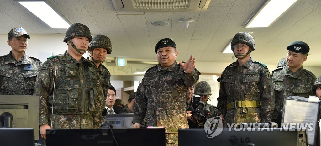 Top military commander checks readiness