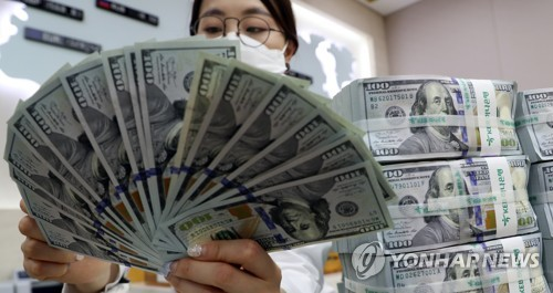 S. Korea's FX reserves surge back to US$404 bln in April