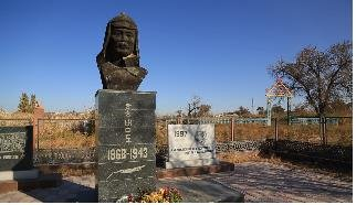 Korean nat'l hero's remains in Kazakhstan